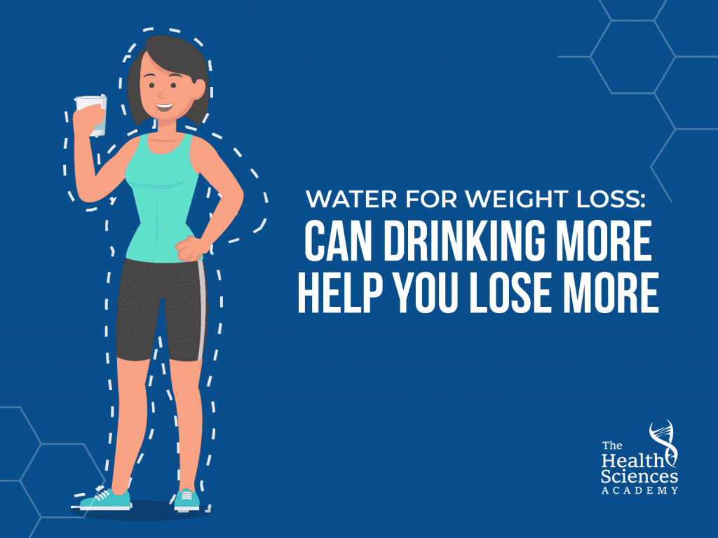 How does drinking more water help you to lose weight