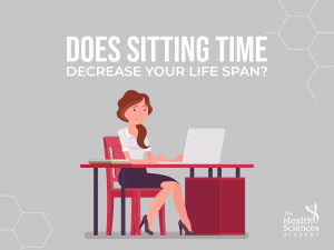 Does sitting time decrease your life span?